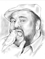 Dom Deluise by gregchapin