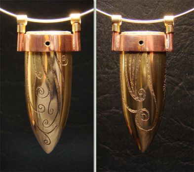 Commissioned Pendant Number 1 by TallGuyKen