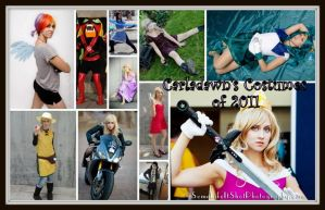 Carladawn: Costumes of 2011 by NovemberCosplay
