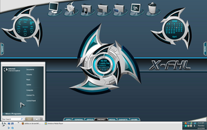 X-FHL Desktop by a666a