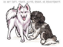 Duke And Dutchess Memorial Portrait by WildSpiritWolf
