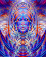 Cosmic Being by scottfacon