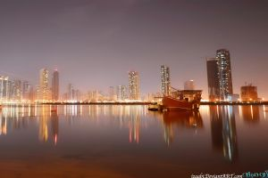 Smile You Are In Sharjah by izaabi