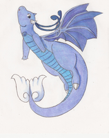 Ice Dragonite - Meridian by DaMee-Momma