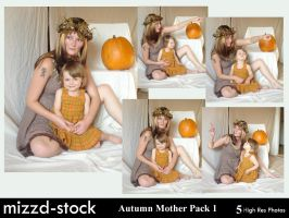 Autumn Mother pack 1 by mizzd-stock