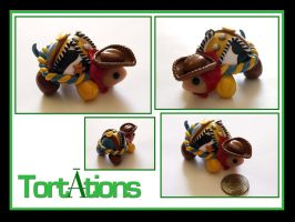 Woody the Tiny Tort by Tortations