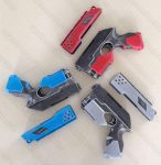 Mass Effect Nerf Scouts WIP Red Grey Blue by GirlyGamerAU