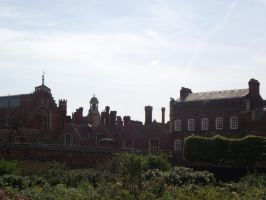 Hampton Court Palace Outside by astrals-stock