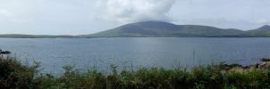 Ireland Panorama: Near Dingle by wurstgott