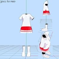 MMD -schoolCheer -DOWNLOAD by MMDFakewings18