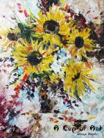 The Sunflowers by Olesya-Christina