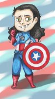 Chibi: Captain Loki by arinadream