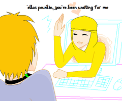You've been waiting for me PewDie ~BASE~ by Ask-the-BroArmy