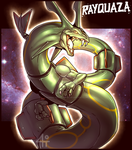 Rayquaza by Bandof40Artthieves