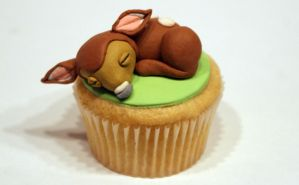 Bambi Cupcake by VPofFantasyland