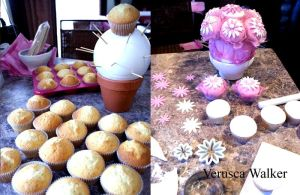 cupcake bouquet step-by-step by Verusca