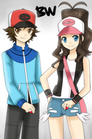 PKMN BW Trainers by Na-Nami