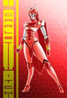 Robo Scarlet Witch by singory