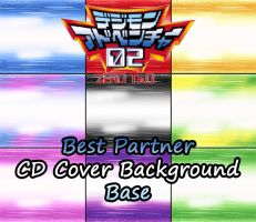 Digimon Adventure 02 - Best Partner CDs Base by NelaNequin
