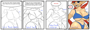 How the artist works:  Measurements by Sammy-Upvotes