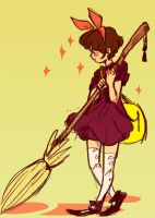 Kiki's delivery by shark-bomb