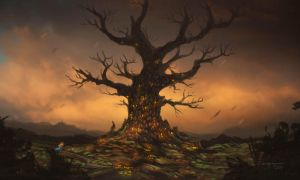 The Tree by CassiopeiaArt