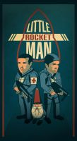 Little Rocket Man by ENJAUMA