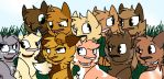 Group Pic 3 by InvaderSpotty