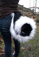 Big Curly Husky Tail by shagpokestudios