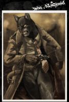 John Blacksad by Crisjofreart