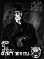 Cowboys From Hell by noizkrew