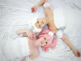 Serenity and Chibi-usa by Angelicacosplay