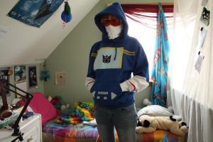 portcon costume: G1 soundwave by keyismykitty