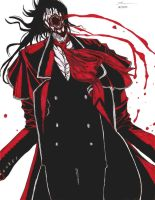 Alucard on Everclear by prayerofthehopeless