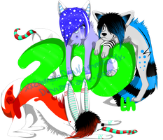 We've hit 200 by FlNCH-FACE