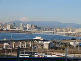 Kawasaki and Mt Fuji by archangelselect