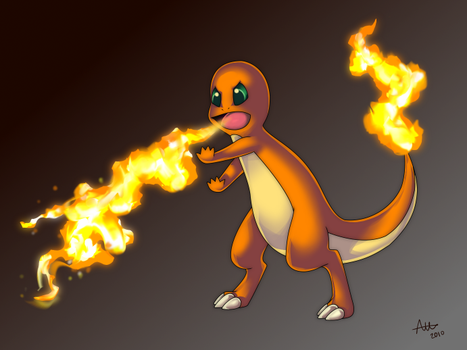 Charmander Used Flamethrower by Meme772