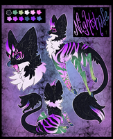 Nightshade [Ref Sheet Commission Sample] by Property-of-SHIELD
