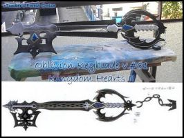 Oblivion Keyblade finish by BakaRinoa