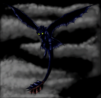 :: Night Fury :: by Alcira