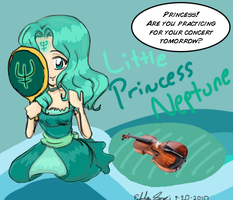 Little Princess Neptune by Euri-EuropaNoSenshi