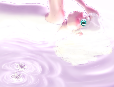Lily In The Water by biffable