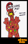 [DUDEL Advent] Fruitcake Monster by CK-was-HERE