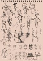 Sketchbook ROBOTZ by radu-jm by Robot-drawing-club