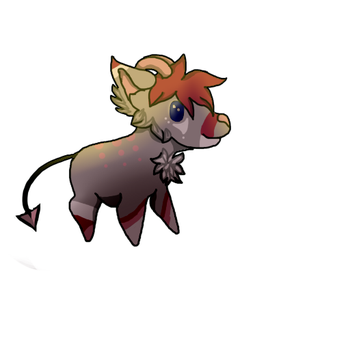 Chibi wolf-Cranberry by Holster05