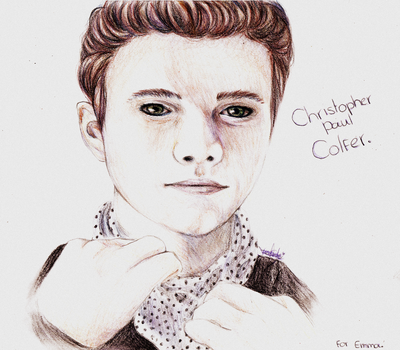 Christopher Paul Colfer by veerle-chan
