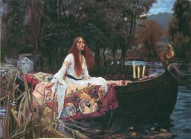 The Lady of Shalott SOLD by graemeb