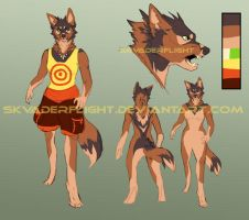 Canine - USD auction adoptable by Skvaderflight