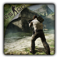 Counter-Strike GO v3 icon by Themx141