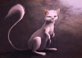 Mew - realistic version - by Sa-chan1603
